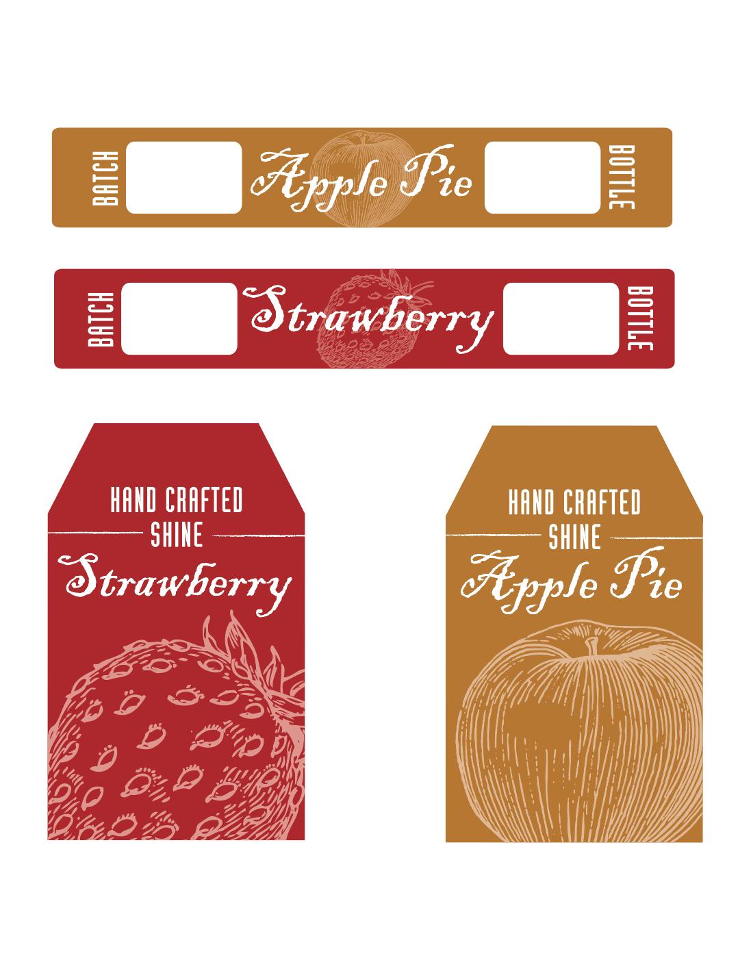 distillery label design by Mike Hosier