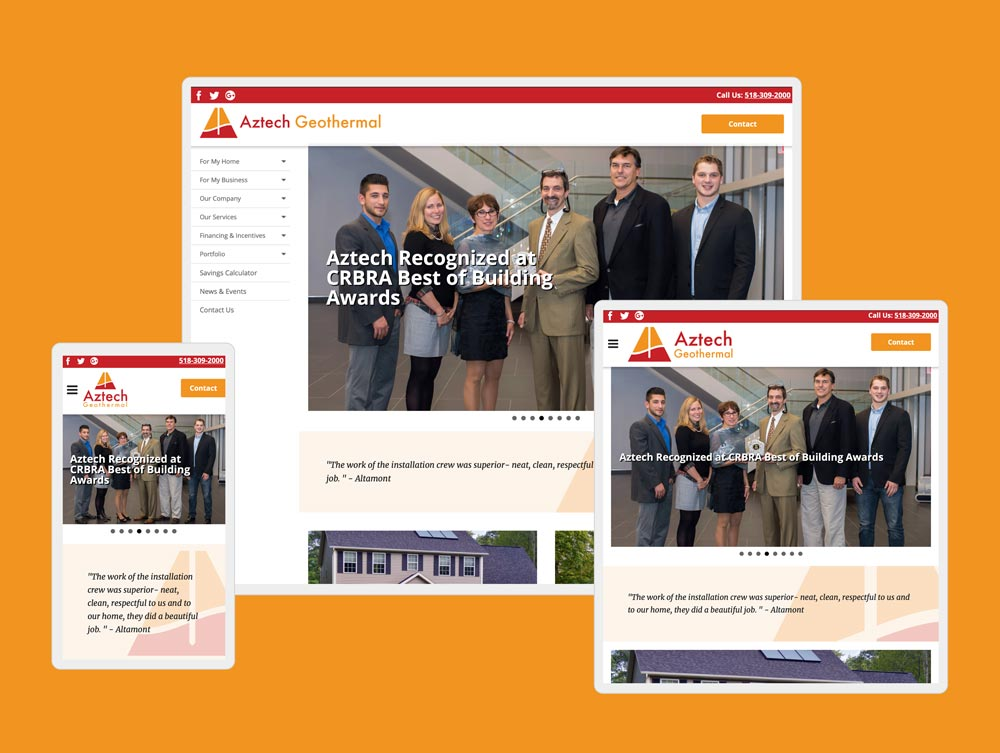 geothermal website design by mike hosier