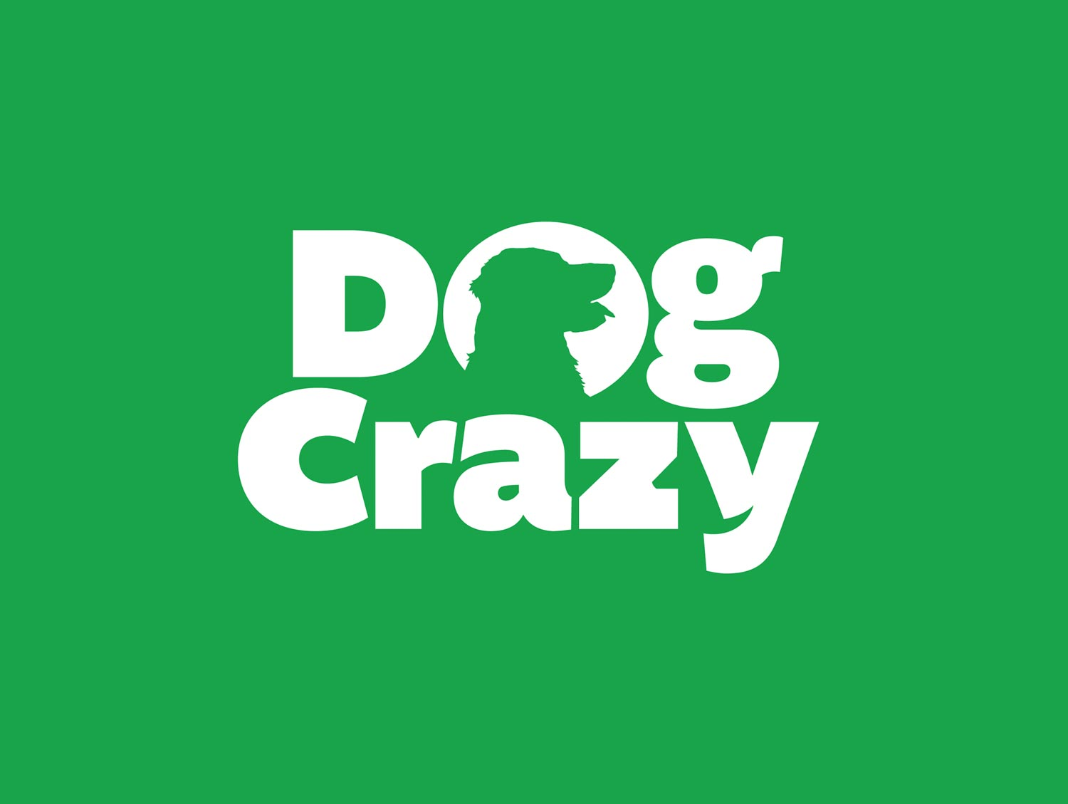 dog crazy logo design by mike hosier