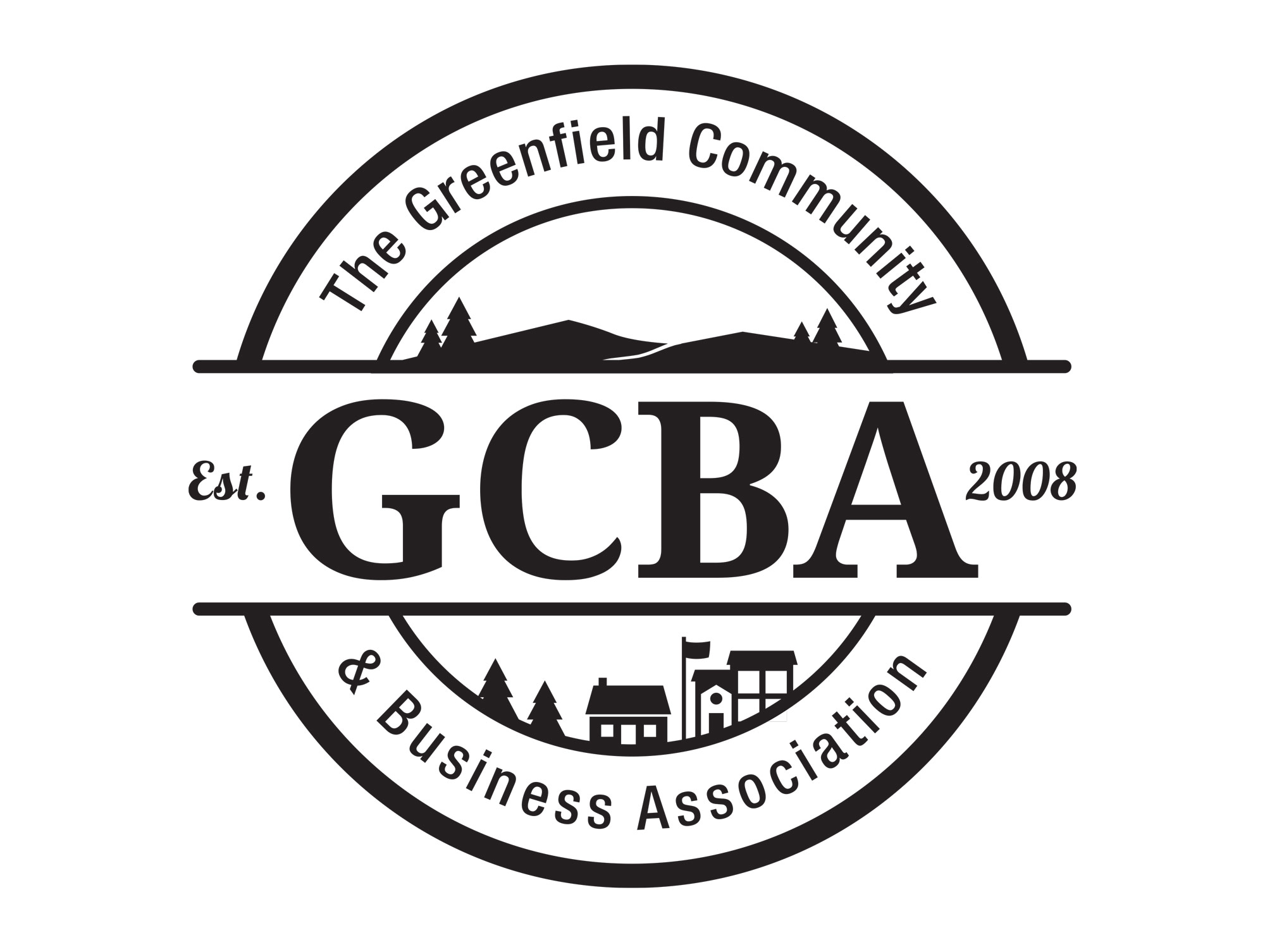 gcba logo design by mike hosier