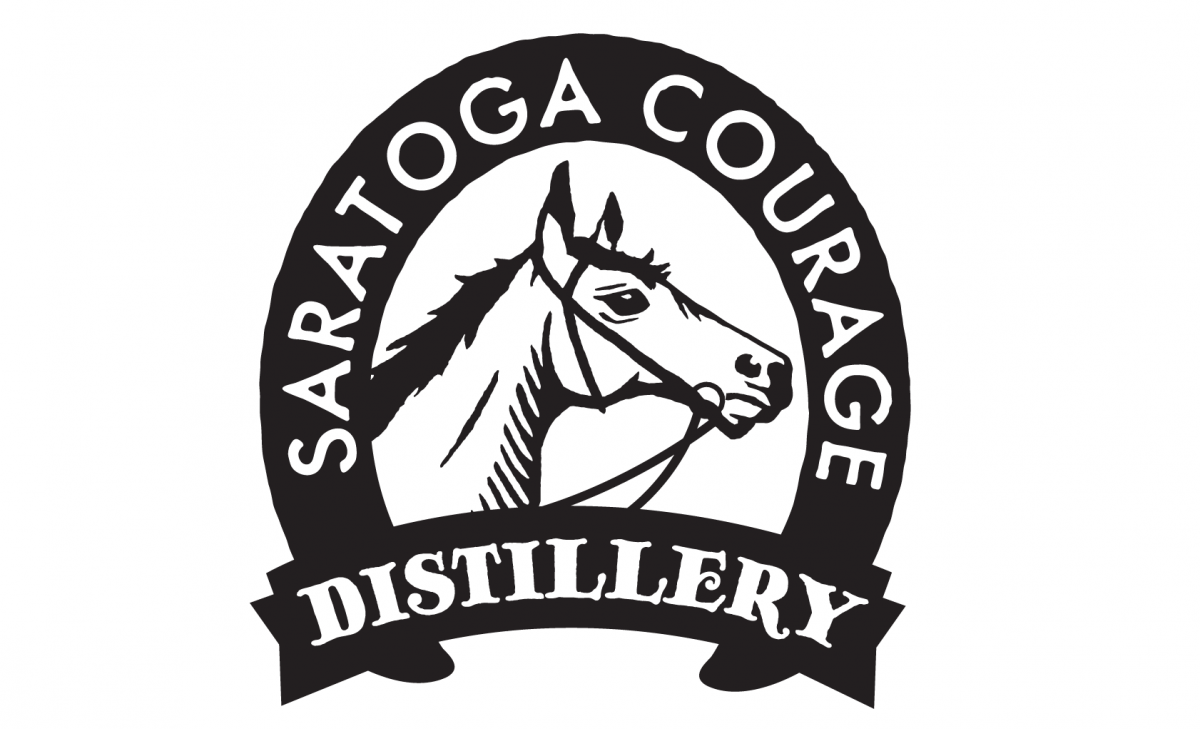 saratoga courage logo design