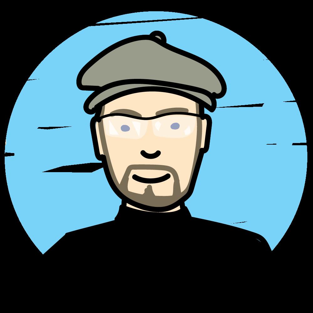 mike hosier, art director of MWH Design