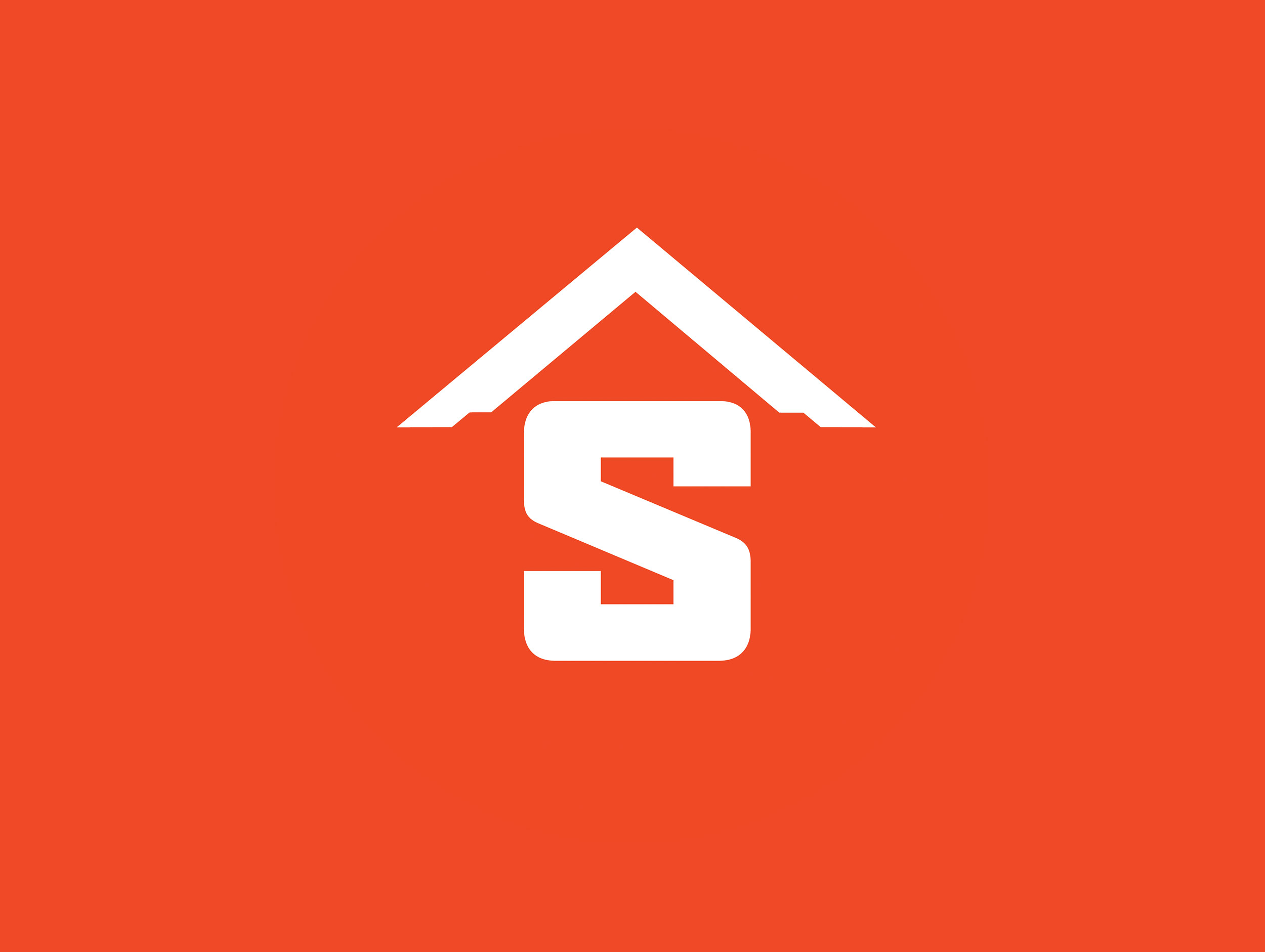 sandy contractors logo design by mike hosier