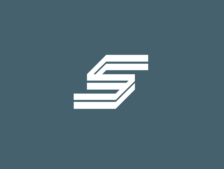 steel company logo design by mike hosier