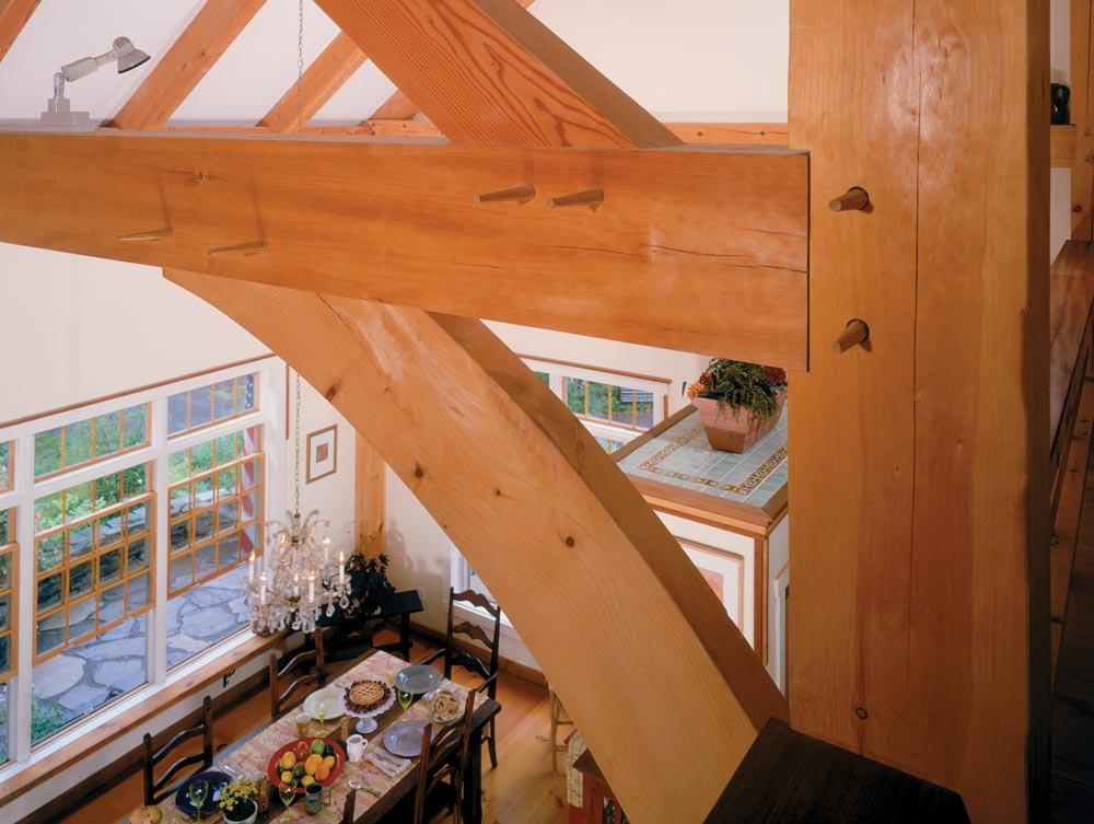 vermont timber frames brochure design