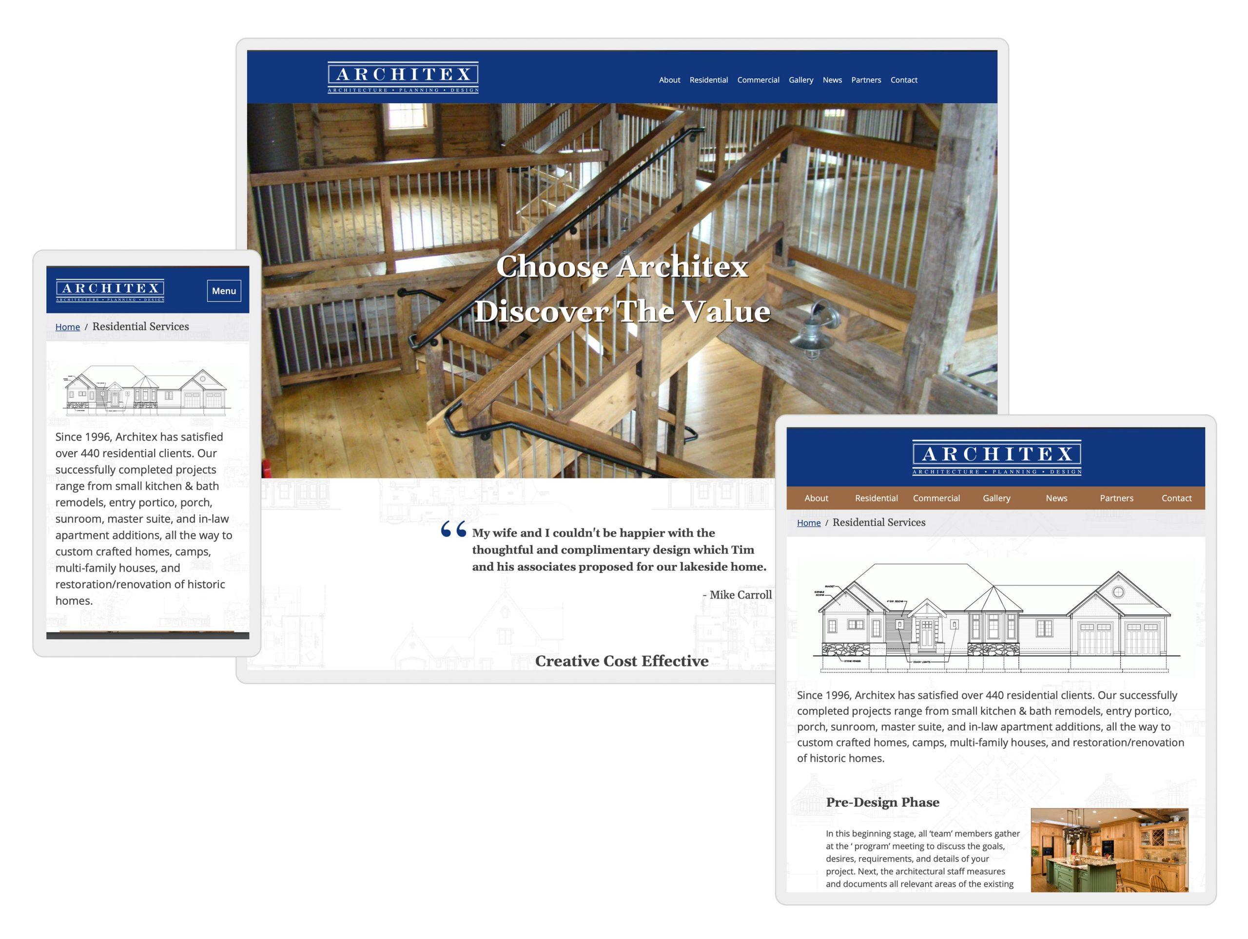 latham ny architect web design by mike hosier