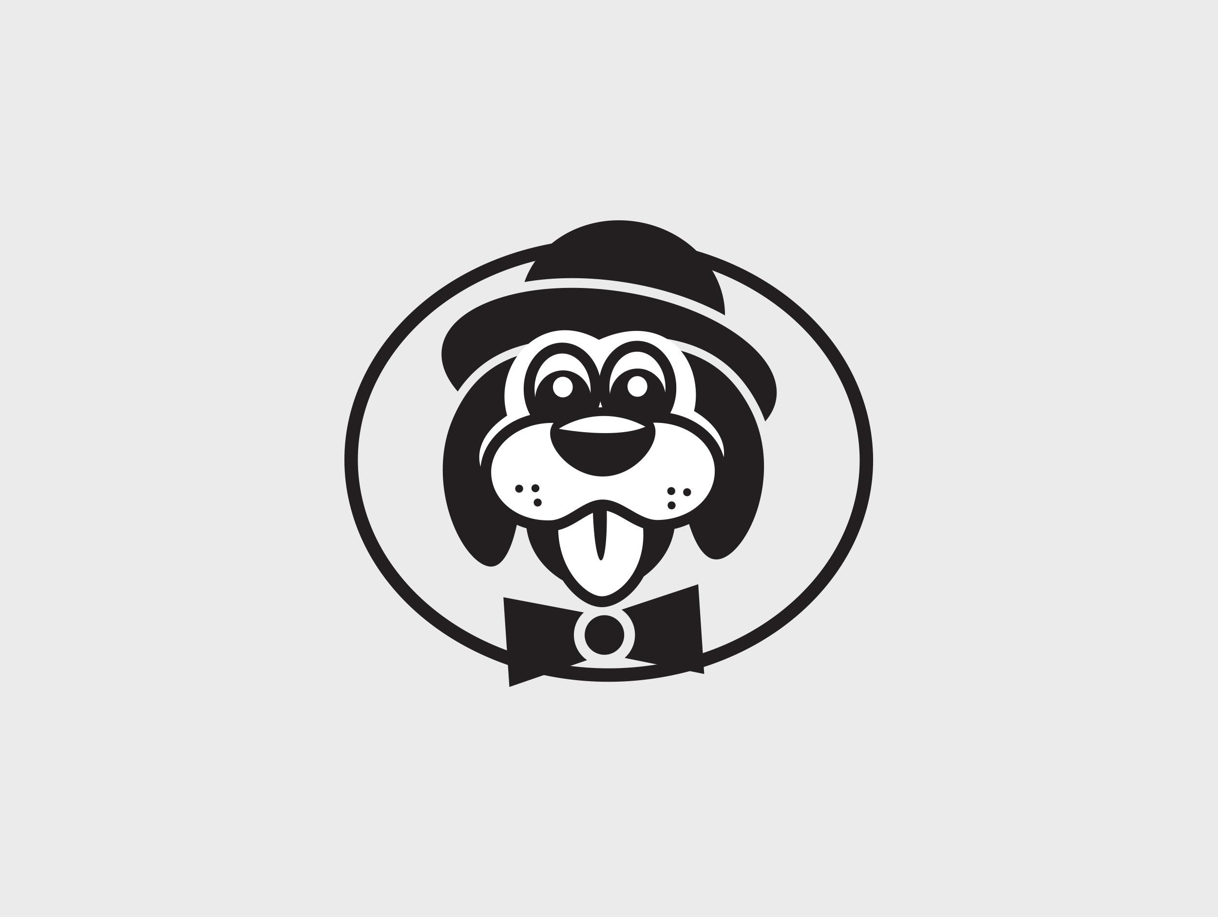 dog business logo design by mike hosier