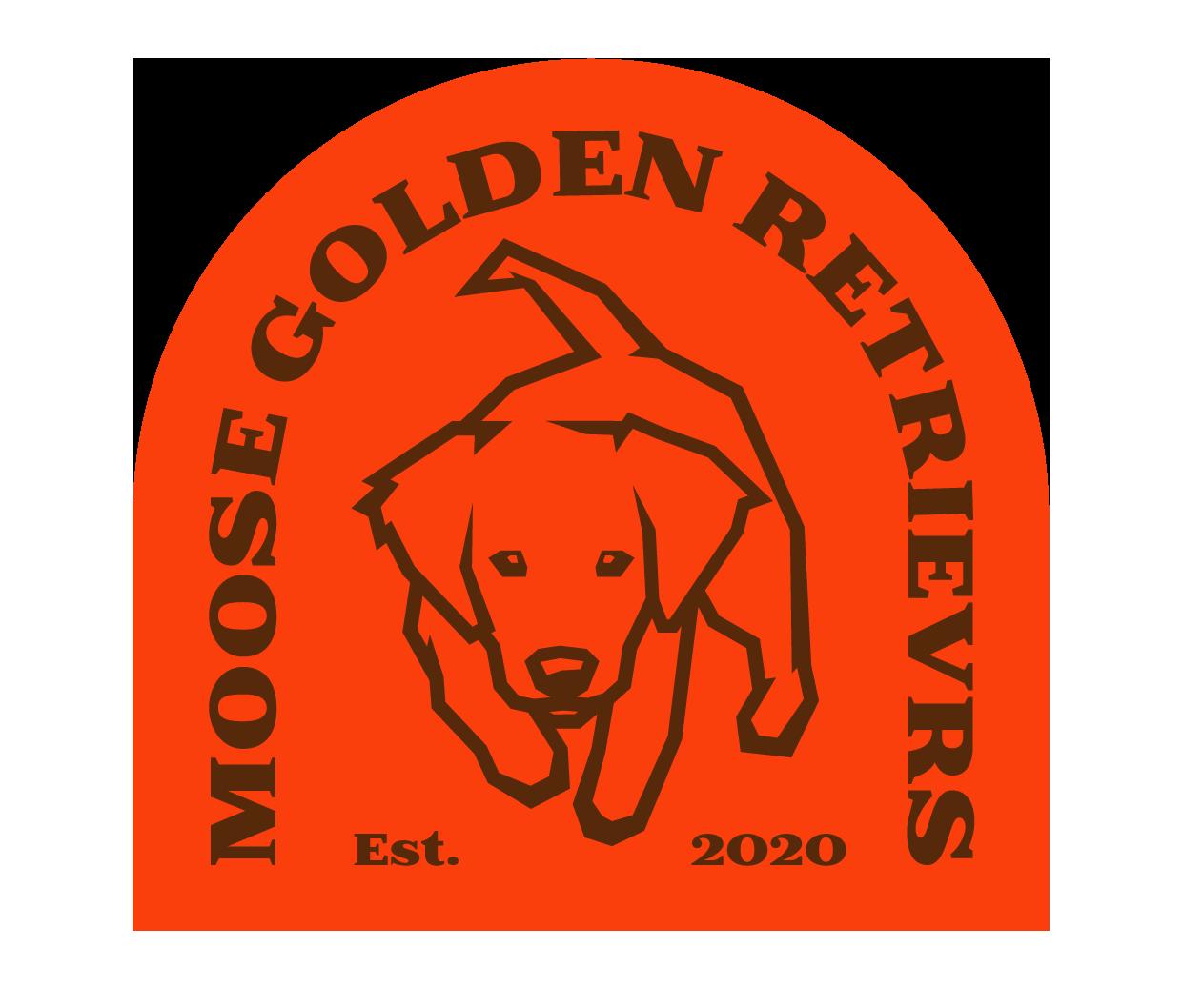 moose golden retriever breeder sticker
