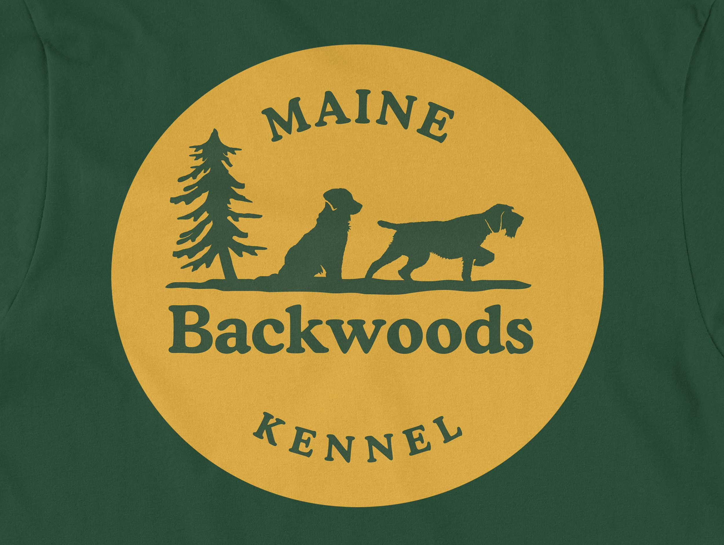 dog breeder logo design by Mike Hosier